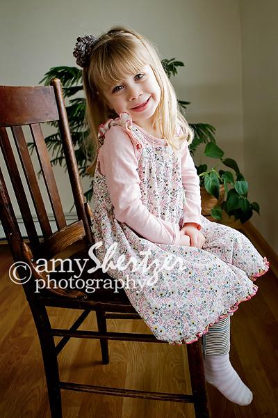 Sitting pretty for Bozeman preschool photos
