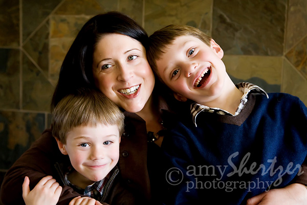 Bozeman Mother with sons