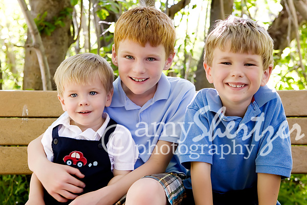 3 brothers smile for the camera 200541411