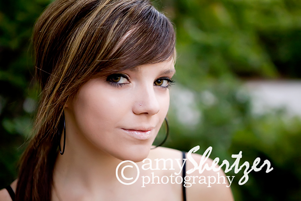 Gorgeous Bozeman senior poses for portait