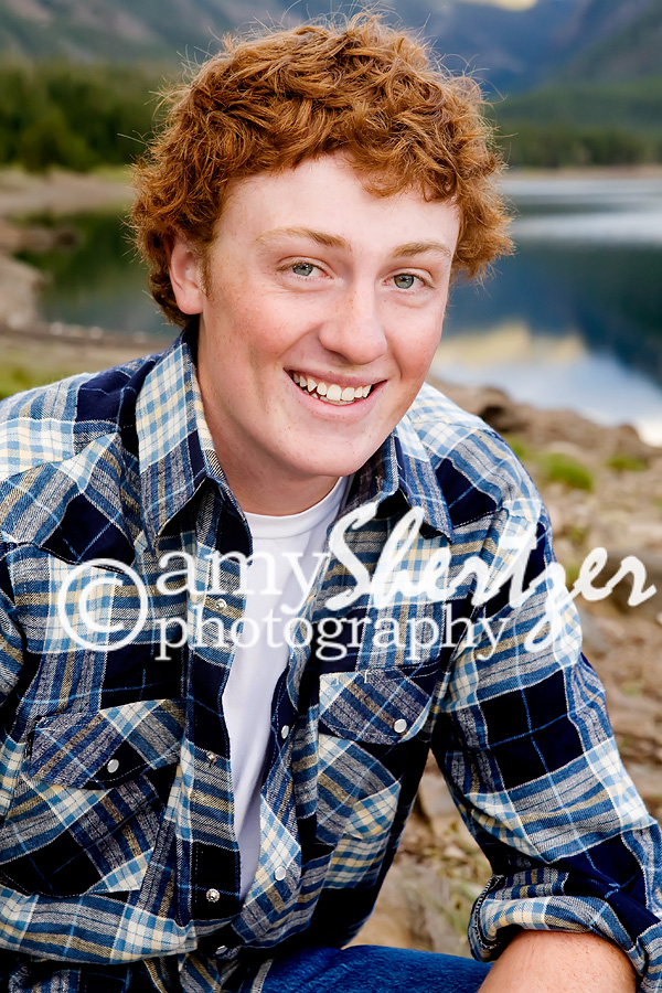 Bozeman high senior boy photo