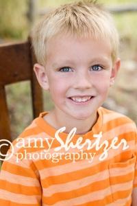 Bozeman boy in orange shirt