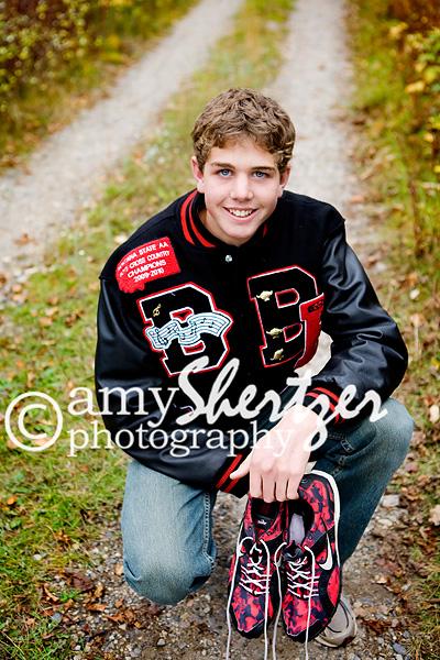 High school track runner