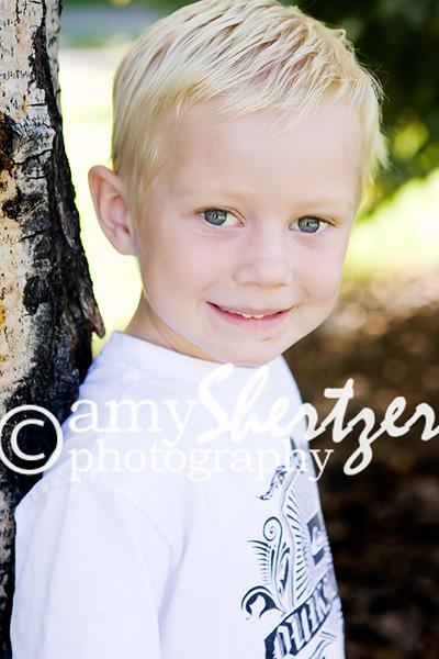 Preschool photo for a Bozeman boy