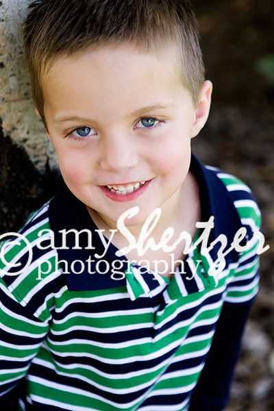 Bozeman preschool boy smiles for his photo