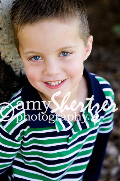 Bozeman preschool boy smiles for his photo