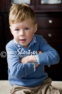 A cute look from a Bozeman preschooler.