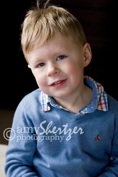 A Bozeman preschooler smiles for a nice portrait.