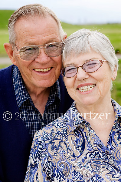 A handsome couple is celebrating 50 years of marriage.