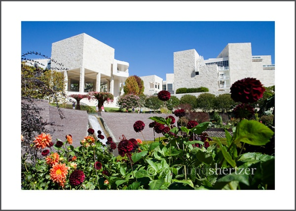 The Getty Center in Los Angeles California.
